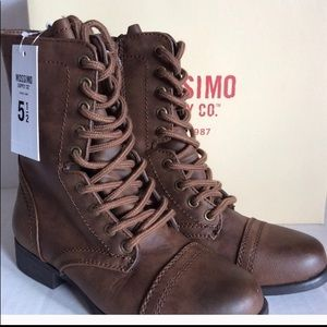 Mossimo Combat Boots Size 5.5 New in Box